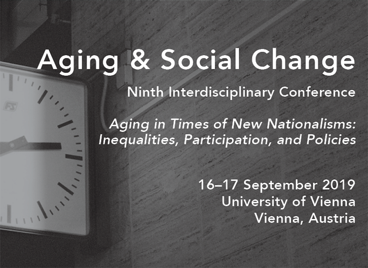Aging & Social Change: Ninth Interdisciplinary Conference