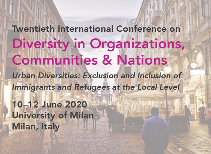 Twentieth International Conference on Diversity in Organizations, Communities & Nations