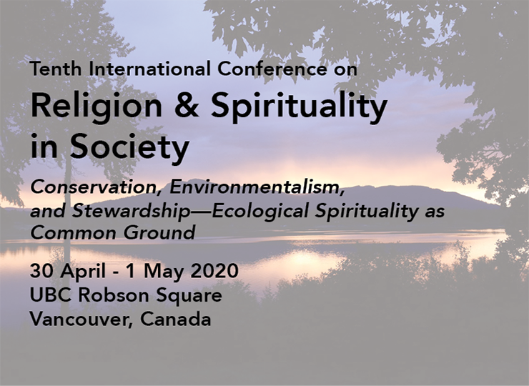Tenth International Conference on Religion & Spirituality in Society