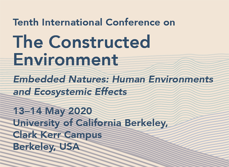 Tenth International Conference on The Constructed Environment