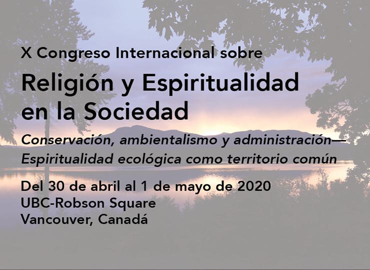 X Congreso Internacional sobre Religión y Espiritualidad en la Sociedad