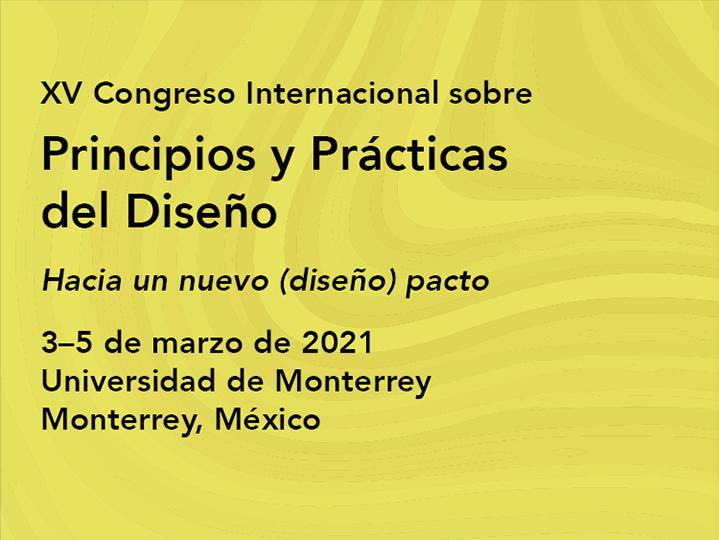 XV Congreso Internacional sobre Principios y Prácticas del Diseño