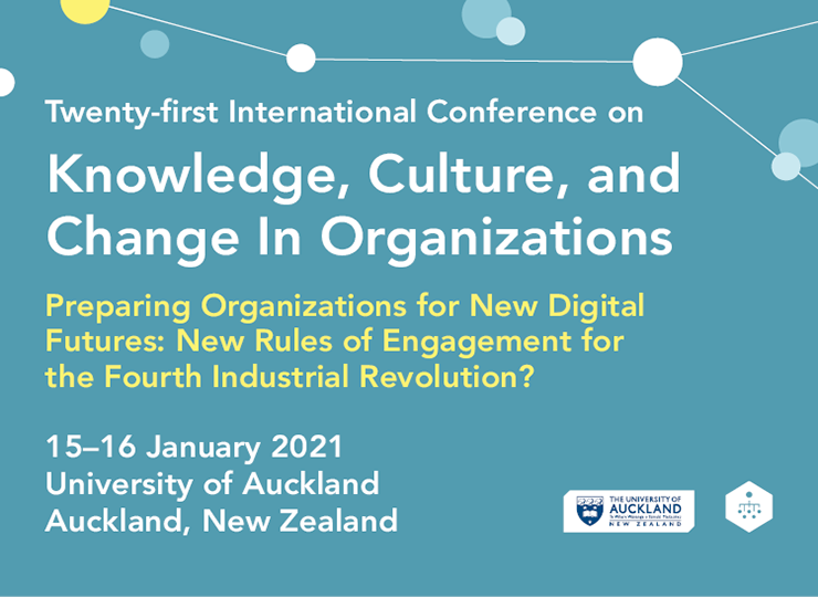 Twenty-first International Conference on Knowledge, Culture, and Change in Organizations