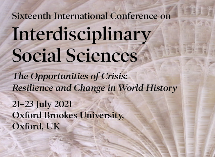 Sixteenth International Conference on Interdisciplinary Social Sciences