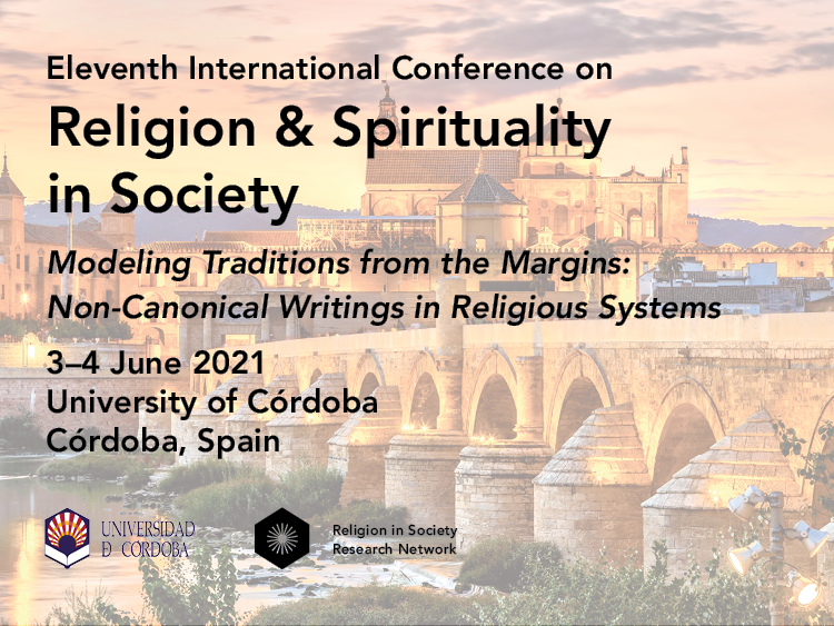 Eleventh International Conference on Religion & Spirituality in Society