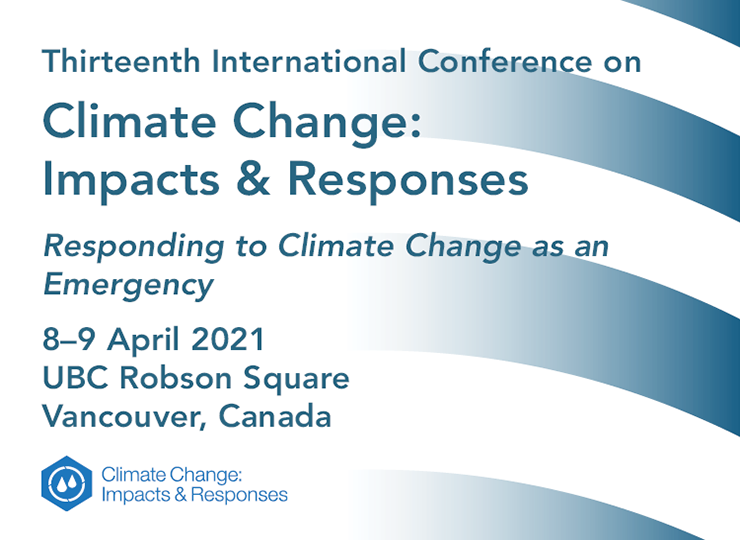 Thirteenth International Conference on Climate Change: Impacts & Responses